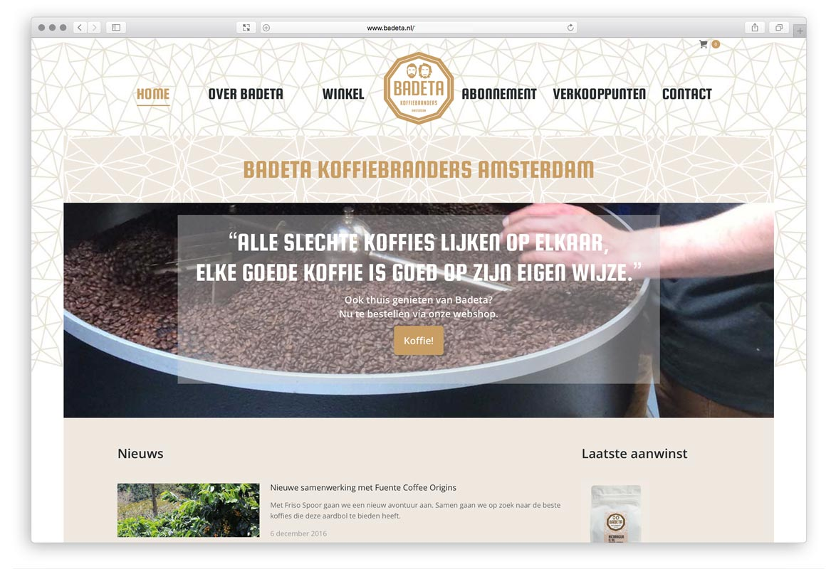 badeta koffiebranders Amsterdam
