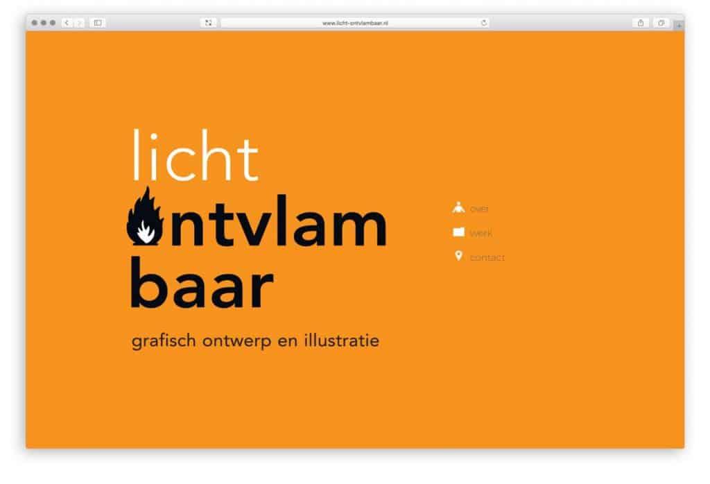 licht ontvlambaar | grafische vormgeving en illustratie | Utrecht