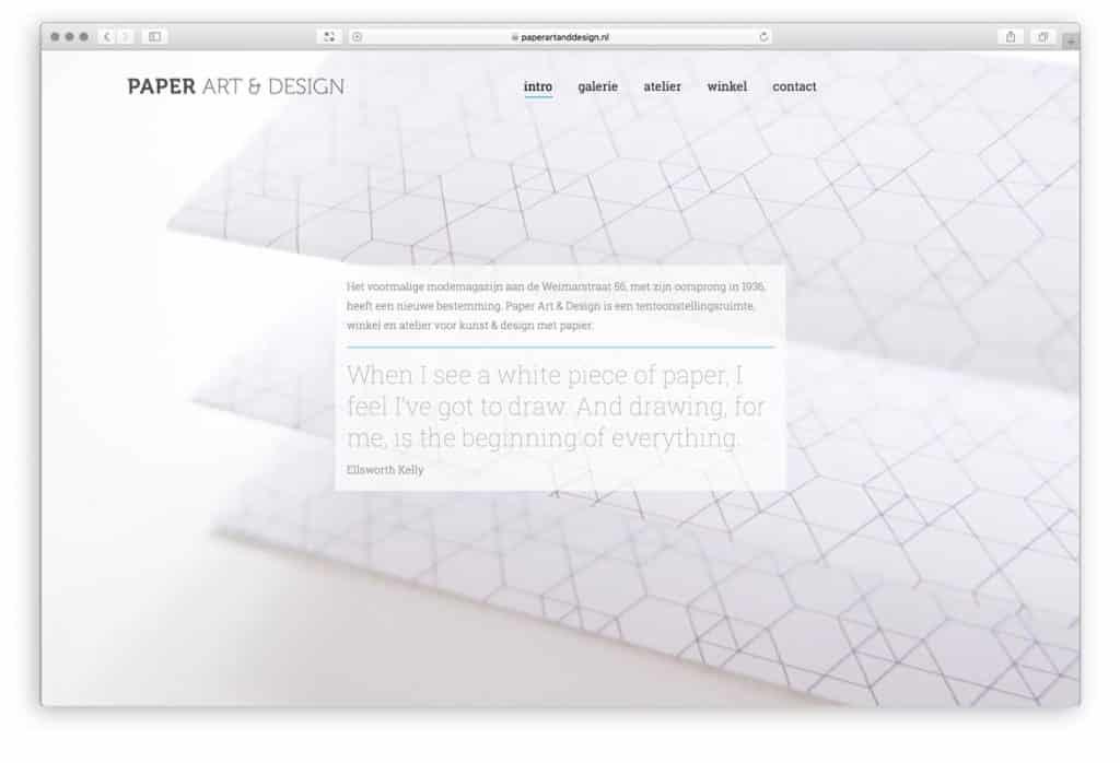 Paper Art & Design