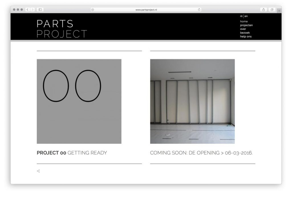 Galerie Parts Project