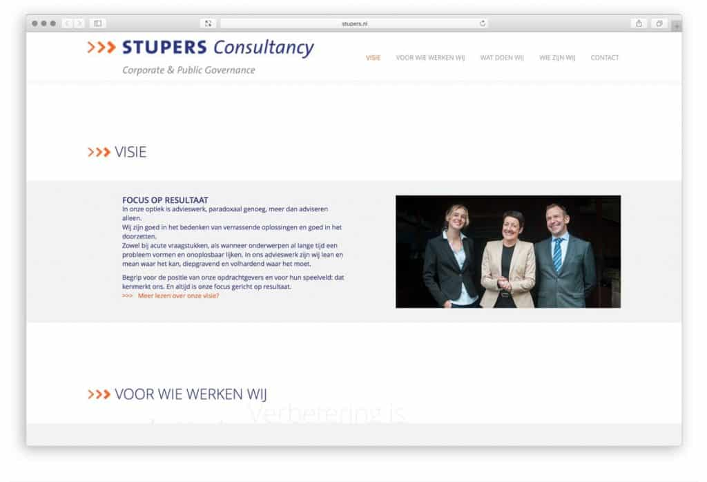 Stupers consultancy