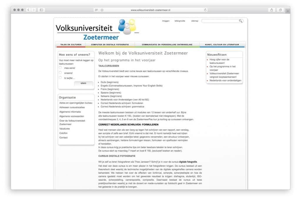 Volksuniversiteit Zoetemeer